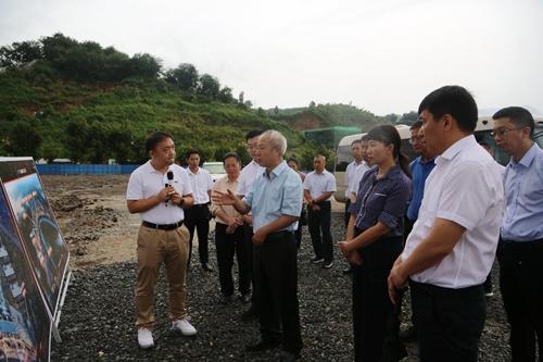 姚国华罗萍一行调研自贸试验区红河片区咖啡一二三产融合发展示范区项目规划建设情况4.JPG