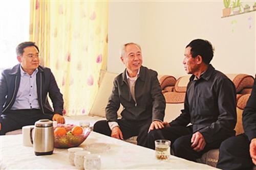 州委州政府新春慰问组分赴各地开展走访慰问